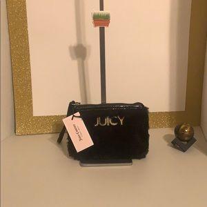 Soft plush Juicy Couture wallet